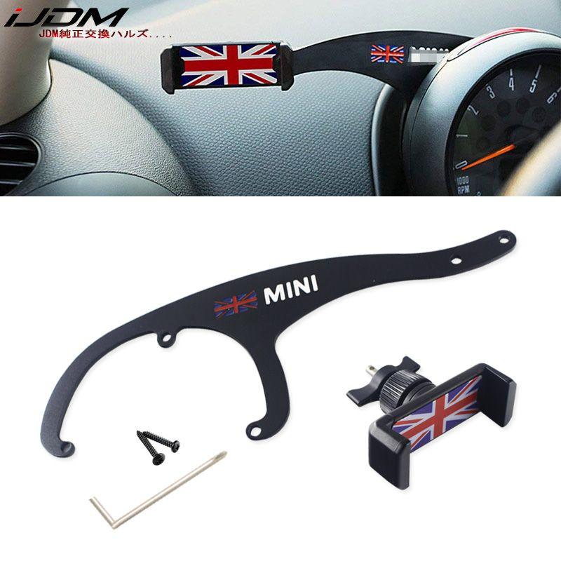11,11 iJDM Auto Handy Halter Halterung Auto Halterung Ständer Innen Zubehör für BMW Mini Cooper R56 R55 Clubman Auto styling