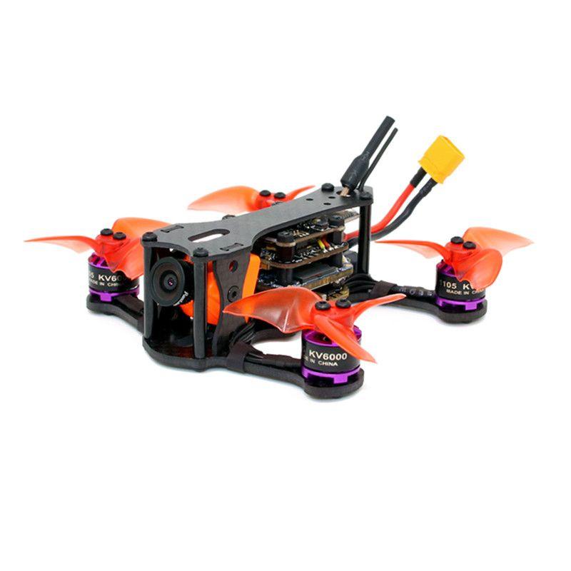 SPCMaker SPC K1 95mm F4 20A BL_S FPV Racing Drone Racer PNP BNF w/ RunCam Split Mini 2 Camera Compatiable Flysky/Frsky Receiver