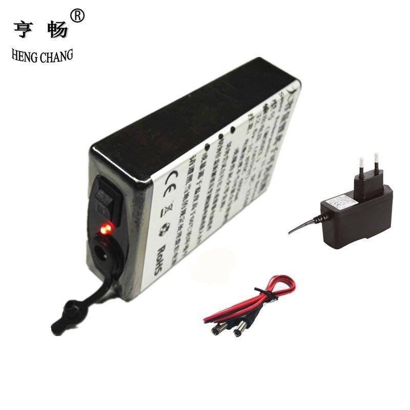 12 v batterie Super rechargeable Pack Li-ion Batterie pour DC 12 V 4800 mAh avec chargeur