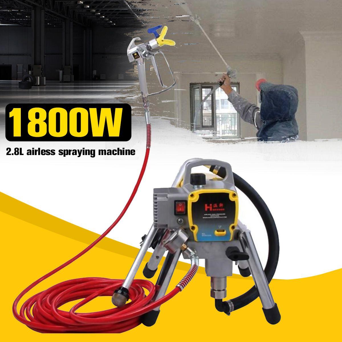 Professional airless spraying machine Professional Airless Spray Gun 220V 2.8L Airless Paint Sprayer H780 painting machine tool