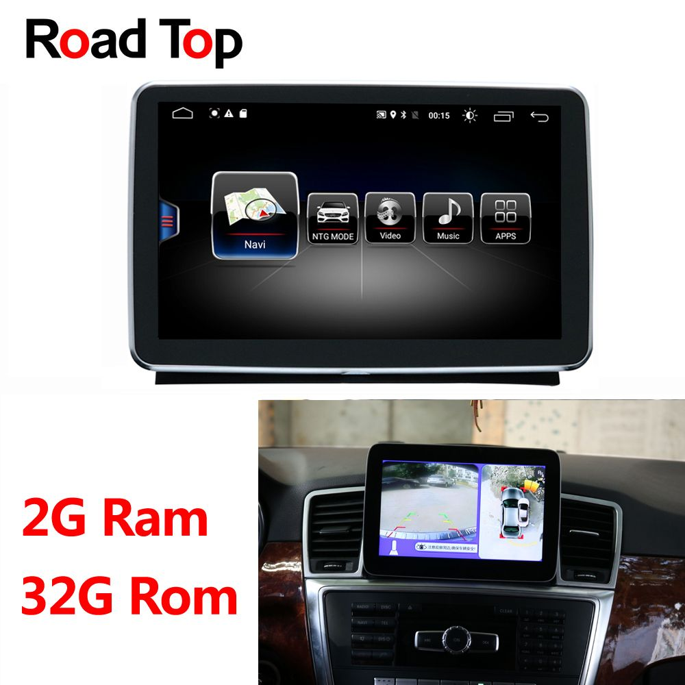 Android Display 2 + 32g für Mercedes Benz M ML W166 GL X166 GLE Auto Radio Multimedia Monitor GPS navigation Bluetooth Kopf Einheit