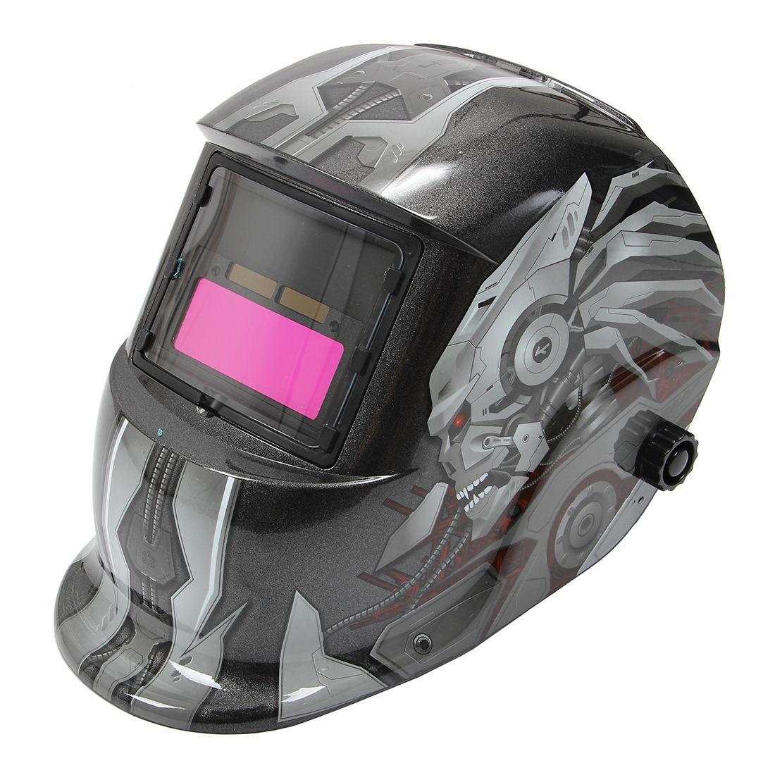 HLZS-Solar Auto Darkening Welding Helmet TIG MIG Weld Welder Lens Grinding Mask