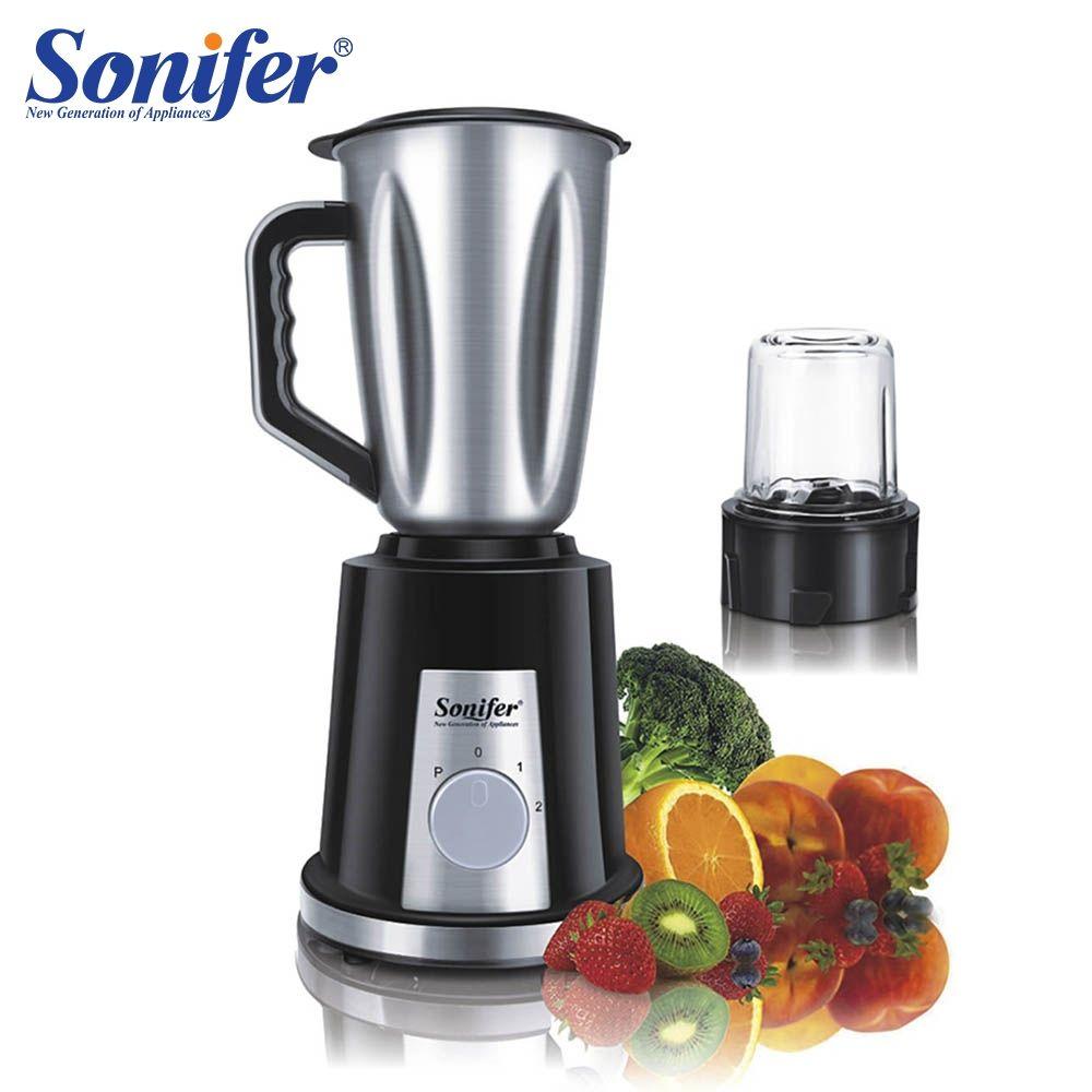 400W Multifunction electric food blender mixer kitchen glass stainless steel standing blender vegetable Meat Grinder Sonifer