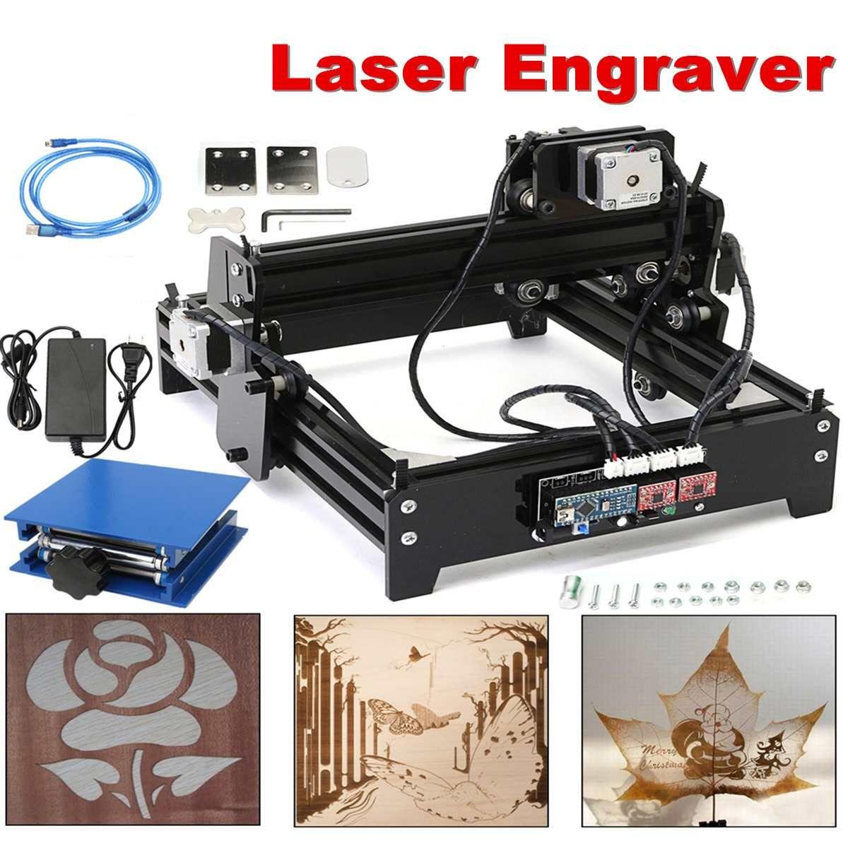 15 W DIY Laser Stecher Maschine USB Desktop Gravur Maschine Holz Router Mini Kennzeichnung Maschine Erweiterte Spielzeug 15000 mw