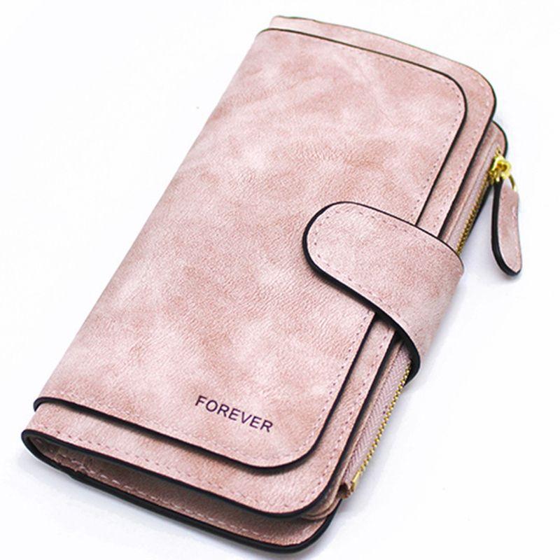 Portefeuille pour femmes sac à main longue fermeture éclair portefeuille pour femmes Triple remise portefeuille de mode