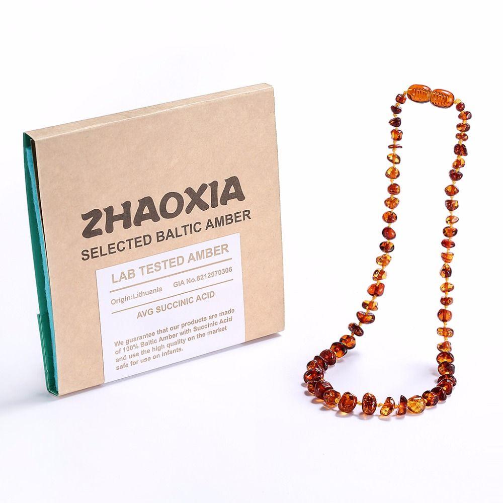 Collier/Bracelet de dentition en ambre de la baltique pour bébé-coffret-5 tailles-4 couleurs-expédié des états-unis, du royaume-uni et du CN