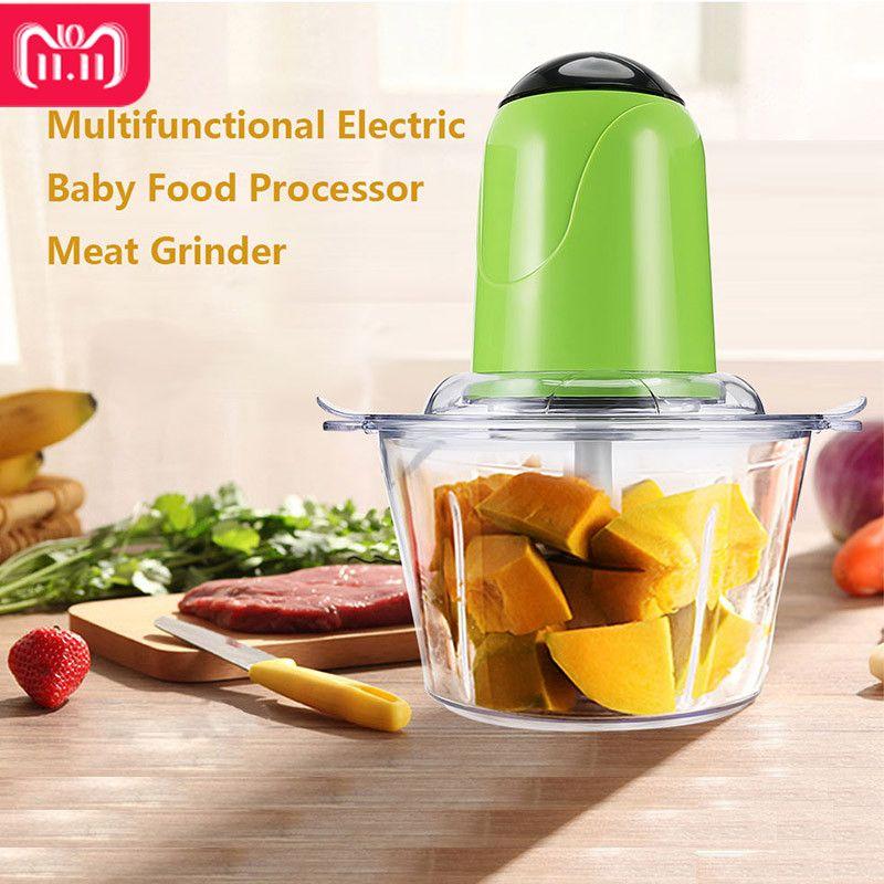 Electric Meat Grinder Kitchen Food Mixers with Meat Grinder Blade Multifunctional Food Processor Mixer Fruit Blender