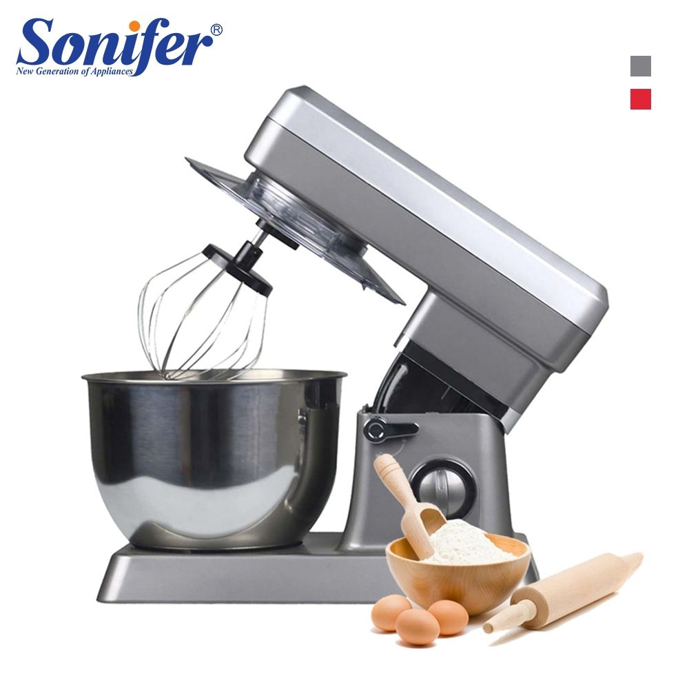 1200W High Power Food Mixers Large size Stainless Steel Whisk Household Cream Mixer Kneading Machine Food Processor Sonifer