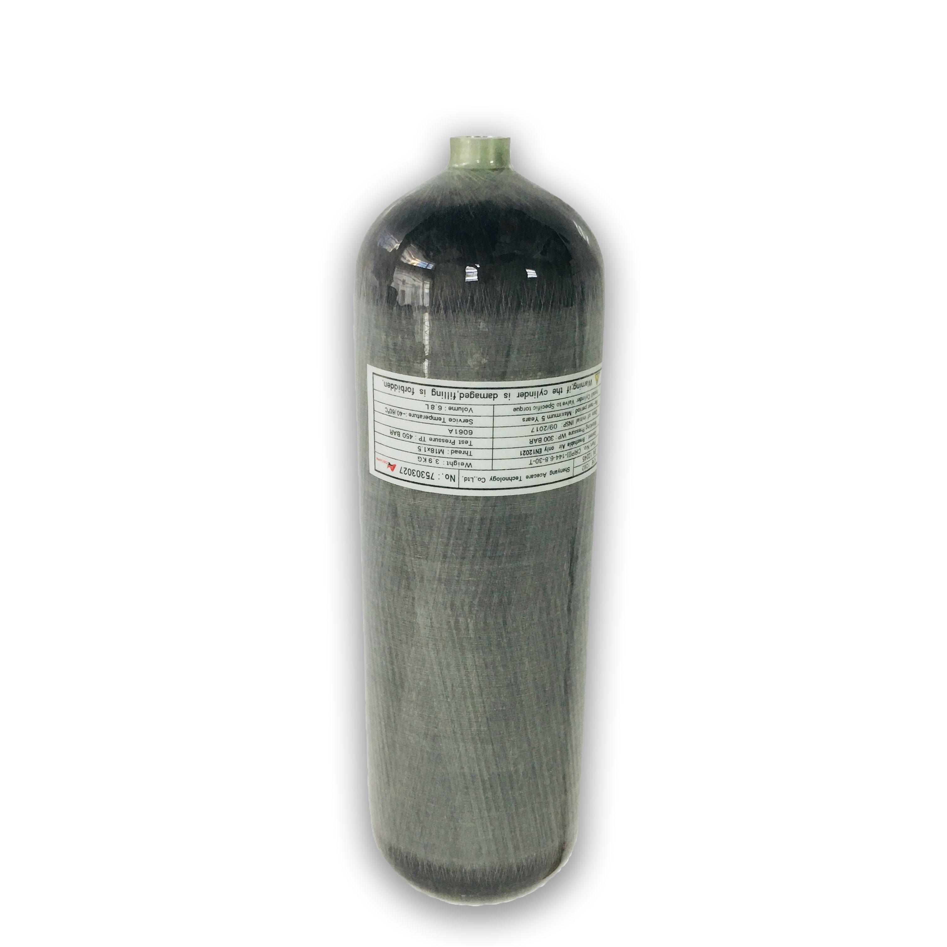 AC168 6.8L CE Scuba Diving/4500psi/Pcp Air/Paintball/Tank Airforce Condor Pcp Air Rifle Airgun Gas/Oxygen Cylinder Acecare