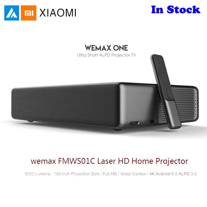 Xiaomi Mijia WEMAX Laser Heimkino-projektor Full HD Android 6.0 5000 Lumen TV 1080 p 4 K Voice Control BT wifi DOLBY DTS 3D