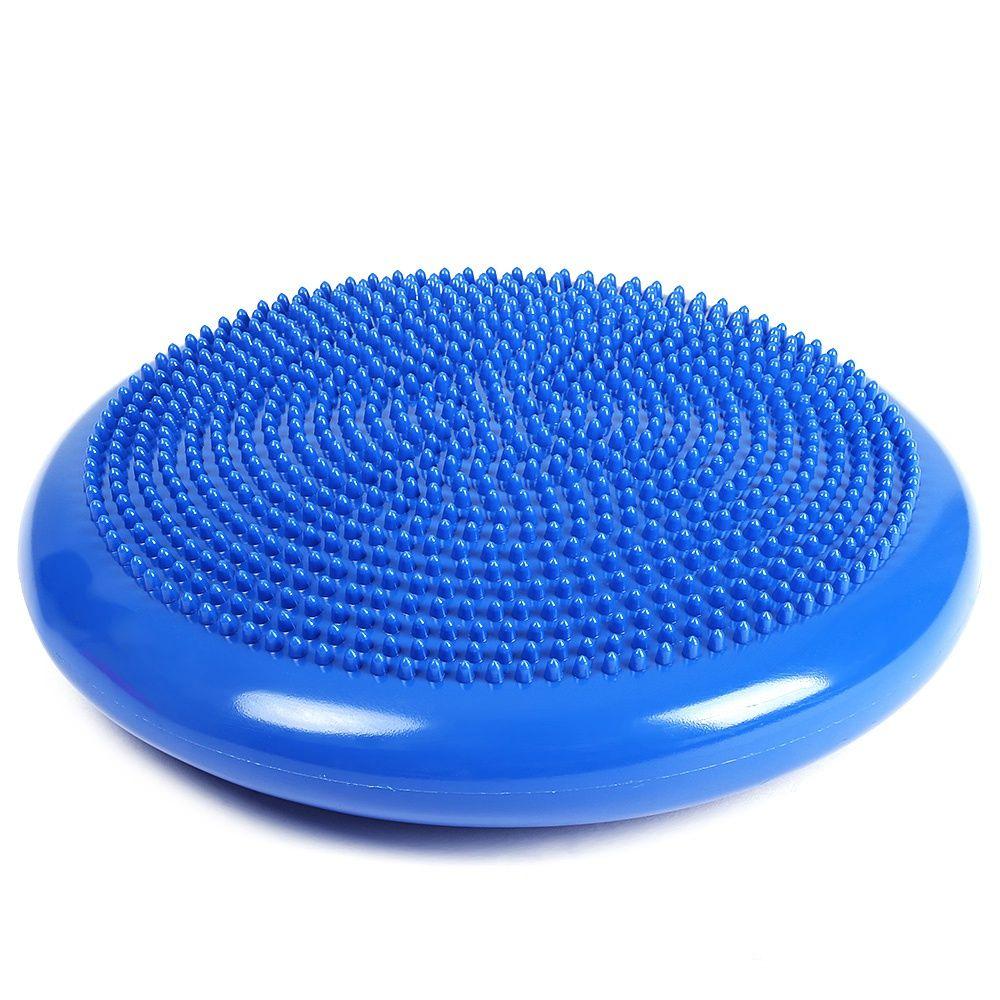 Yoga Pilates Stuhl Massage Aufblasbare Kissen Stacheldraht Massage Fitness Balance Matte Mit Aufblasbaren Schlauch