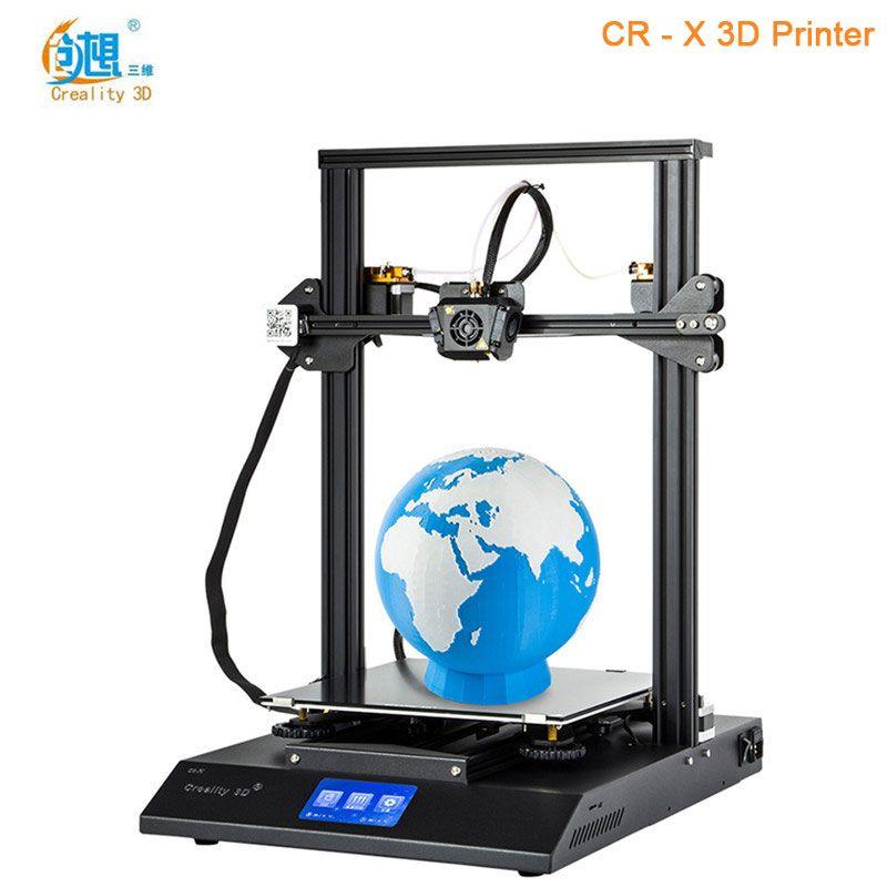 Creality3D CR-X Schnell Montieren 3D Drucker DIY Kit Hohe Präzision Max 300x300x400mm Priorität linie Original 3D Drucker