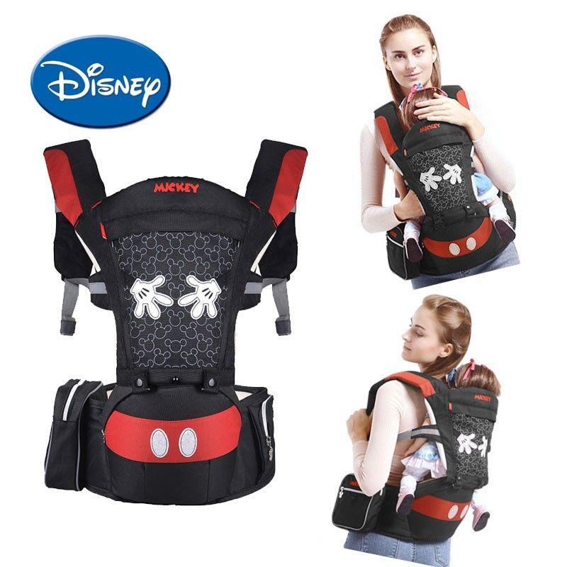 Disney porte-bébé Confortable Avant Face Multifonctionnel Transporteur Infantile Bébé sac à dos porté en écharpe Poche Wrap Accessoires Disney
