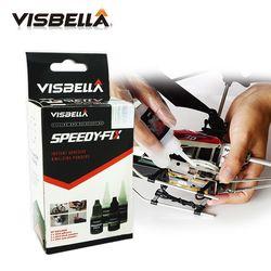 Visbella 7 Second Cepat Memperbaiki Ikatan Lem untuk Logam Baja Plastik Kayu Karet Keramik Memperkuat Perekat Hand Tool Set