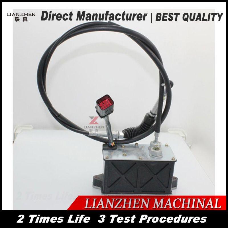 Bagger teile E320C/D Motor/kraftstoff Motor control Kabel für LIANZHEN beschleuniger kabel teile Direkte Hersteller
