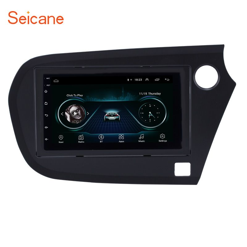 Seicane Android 8.1 2Din Auto radio Multimedia Video Player auto Stereo GPS Für Honda Insight 2009 2010 2011 2012 2013- 2016 RHD