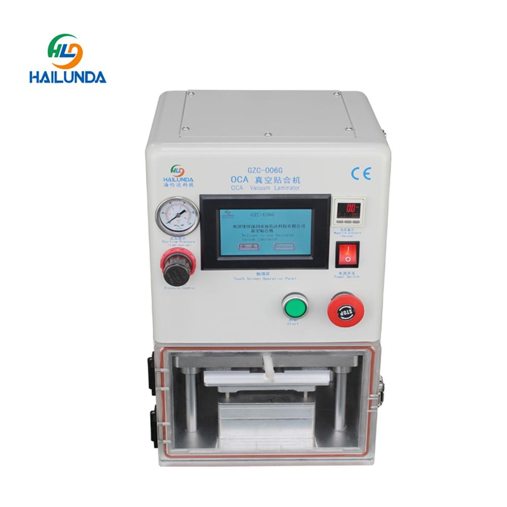 LCD Renovieren Vakuum Laminierung Maschine 006g OCA Laminator Für Samsung Rand Glas Ersetzen Laminieren Maschine