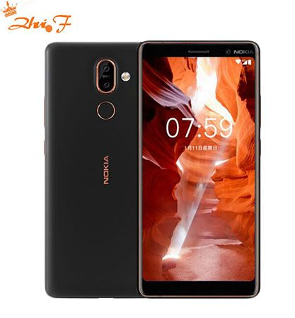 2018 Original Nokia 7 Plus Android 8 Global ROM OTA 4G 64G Snapdragon 660 Octa core 6.0'' 2160x1080P 18:9 3800mAh Bluetooth 5.0
