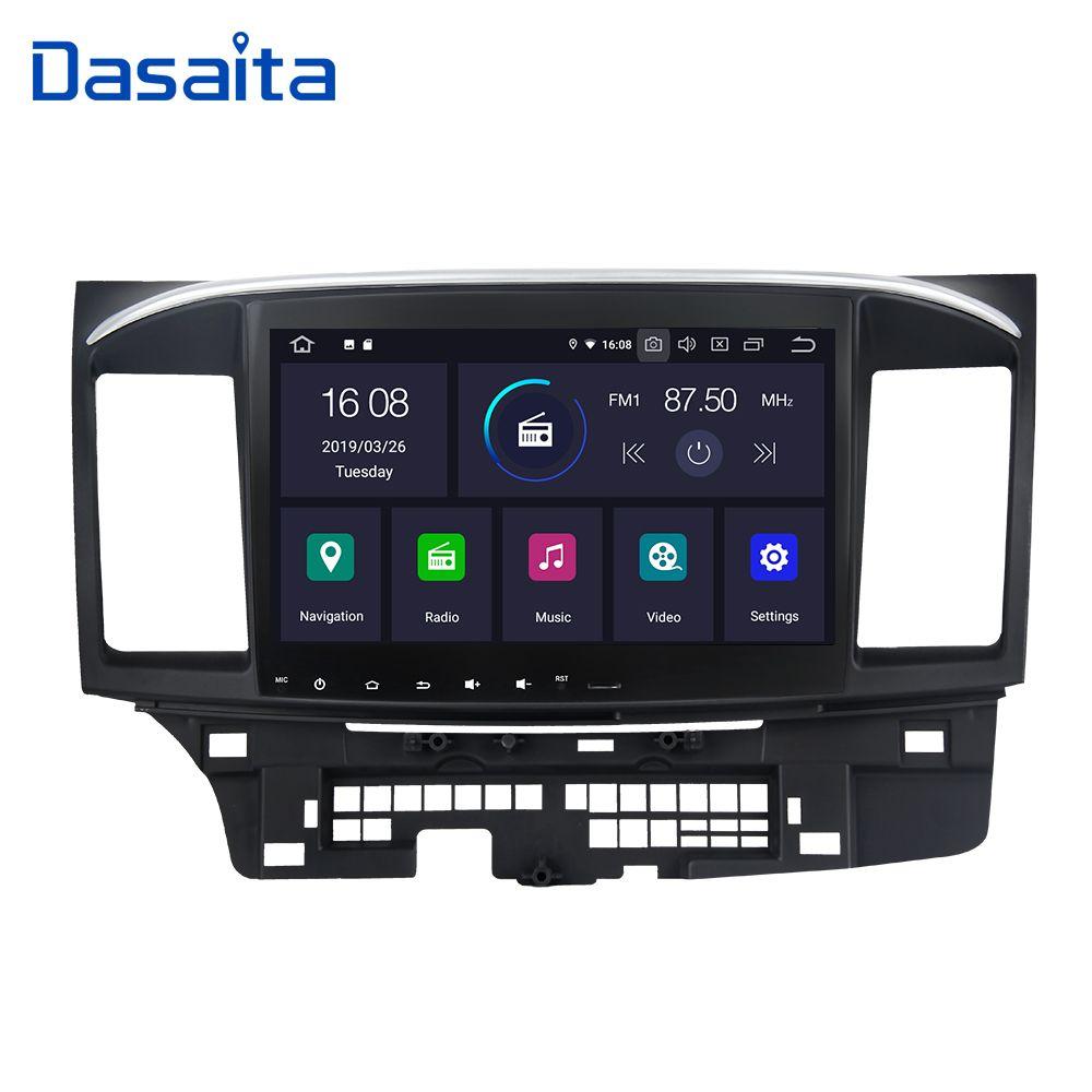 Dasaita Auto Zubehör Android 9.0 Auto 1 din Radio-Player GPS Navi mit 10,2