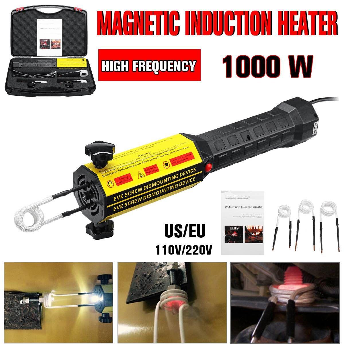 Induktion Heizung Bolzen Wärme Disassembler Schraube Werkzeug 220 V/110 V Magnetische Induktion Heizung Kit Heizung Bolzen Entferner Auto reparatur Werkzeug