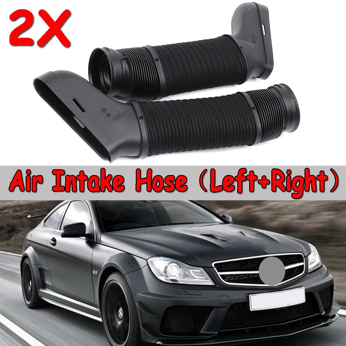 1Pair Car Side Air Intake Duct Hose Black For Mercedes W204 A207 C207 S212 V212 W212 2720903682 Intake Manifold For original Car