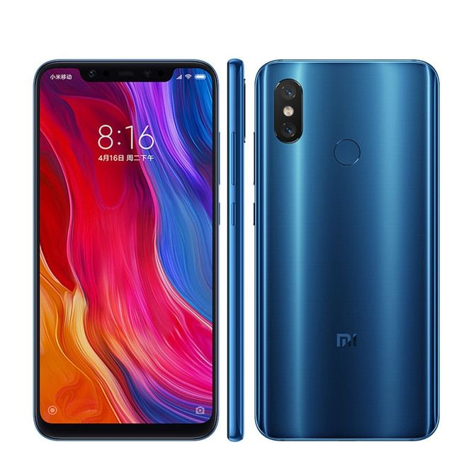Xiaomi 8 6GB RAM 64GB ROM Global Version Cell Phone Snapdragon S845 6.21