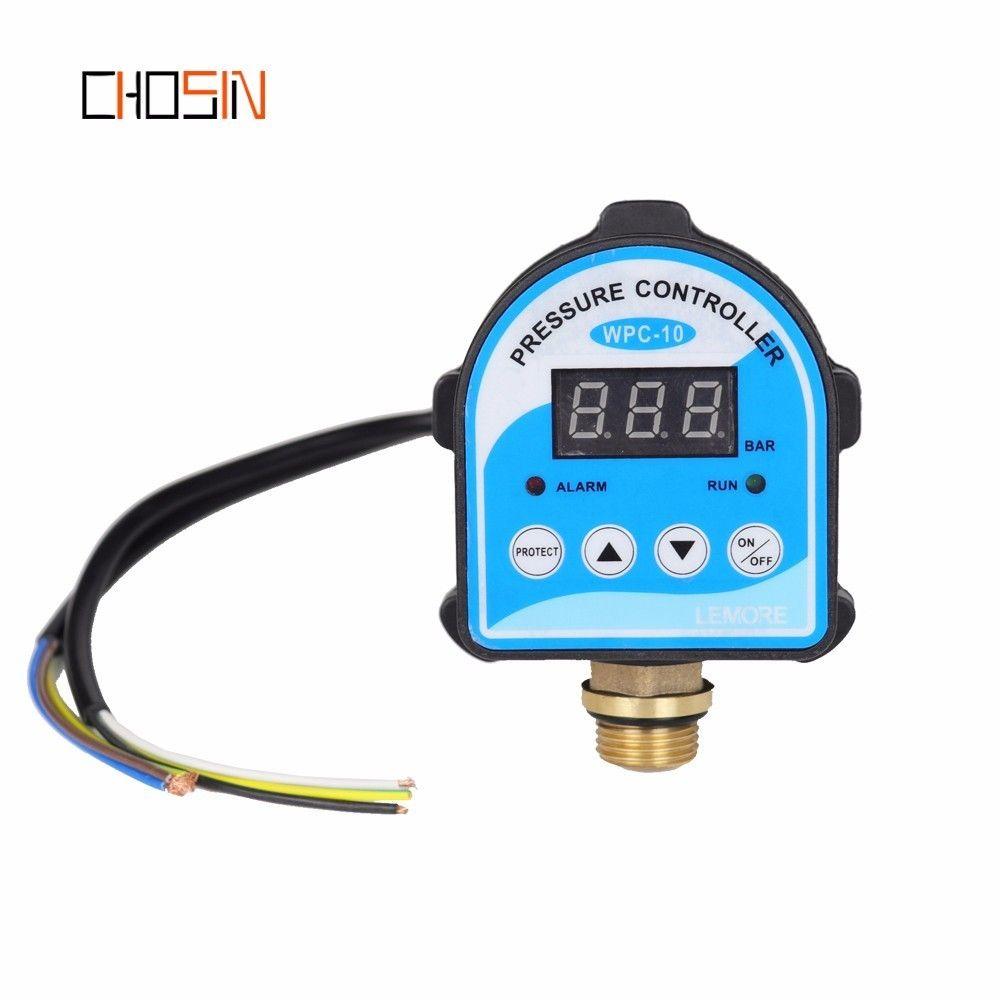 Russian Pressure Control Switch Digital LED Display Water Pump G1/4
