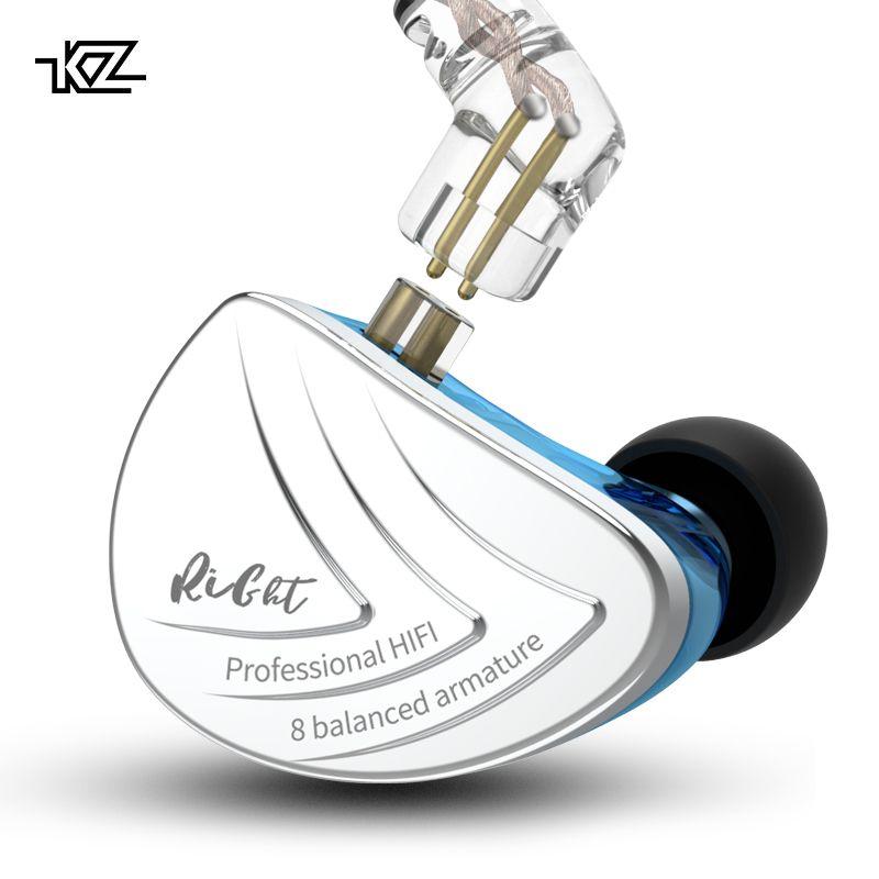 CCAKZ AS16 16BA Einheiten Ausgewogene Anker Hifi Bass In-Ear-Monitor Kopfhörer Noise Cancelling Ohrhörer Kopfhörer Für Telefon