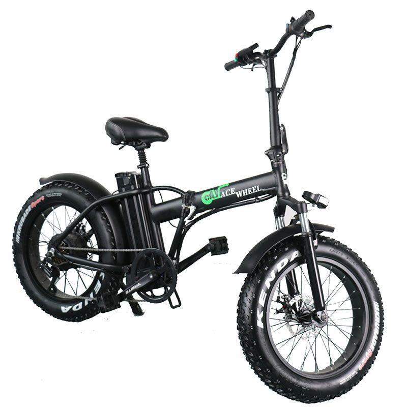 Europa Lager 2 Rad Fett Reifen 500W Elektrische Fahrrad Mit 48V 15ah Abnehmbare Batterie Erwachsene Elektrische Fahrrad Zyklus geschenk Gepäck Rack