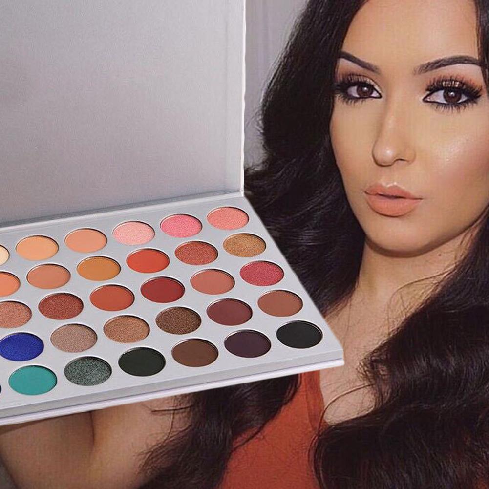 35 couleurs nouveau maquillage pour le visage fard à paupières Palette nuances miroitant mat fard à paupières Palette pour les Morphes Style MYY9277