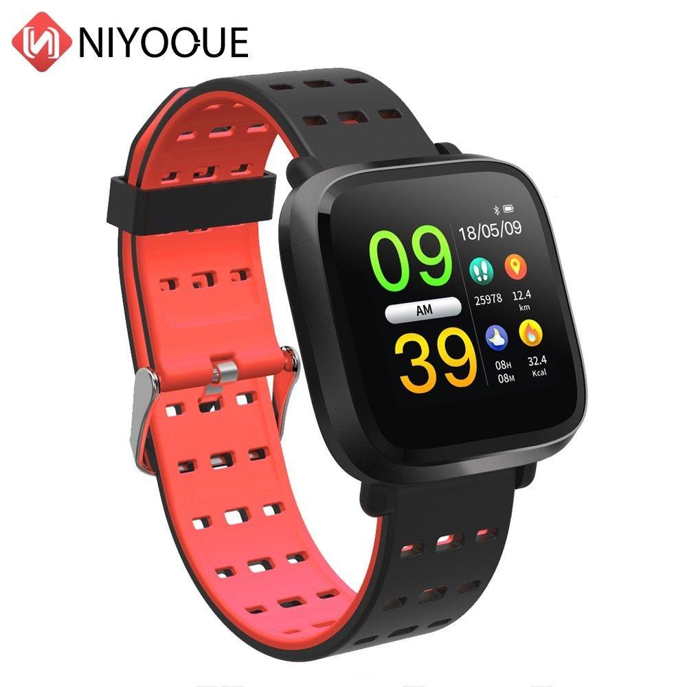 Smartwatch Reloj Inteligente Pulsometro Ritmo Cardi Fitness Tracker Remote Control Smart Bracelet Waterproof Wristband Watch