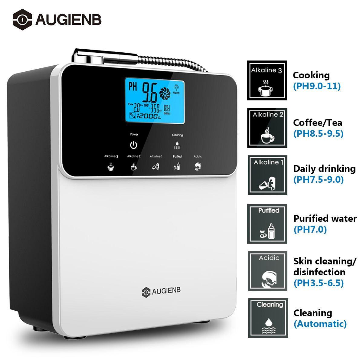 Wasser Ionisator Reiniger Maschine PH 3,5-11 Alkalische Säure 5 Wasser Einstellungen 12000 Liter Auto-Reinigung LCD Wasser filter Behandlung