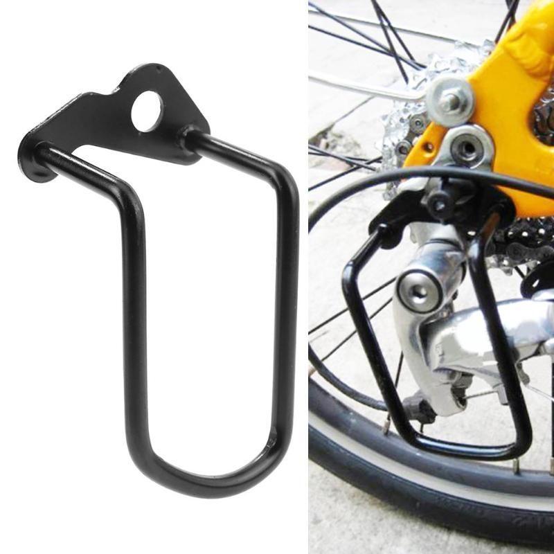 Fahrrad Schaltwerk Kleiderbügel Kette Getriebe Schutz Schutz Abdeckung Mountainbike Radfahren Übertragung Schutz Eisen Rahmen