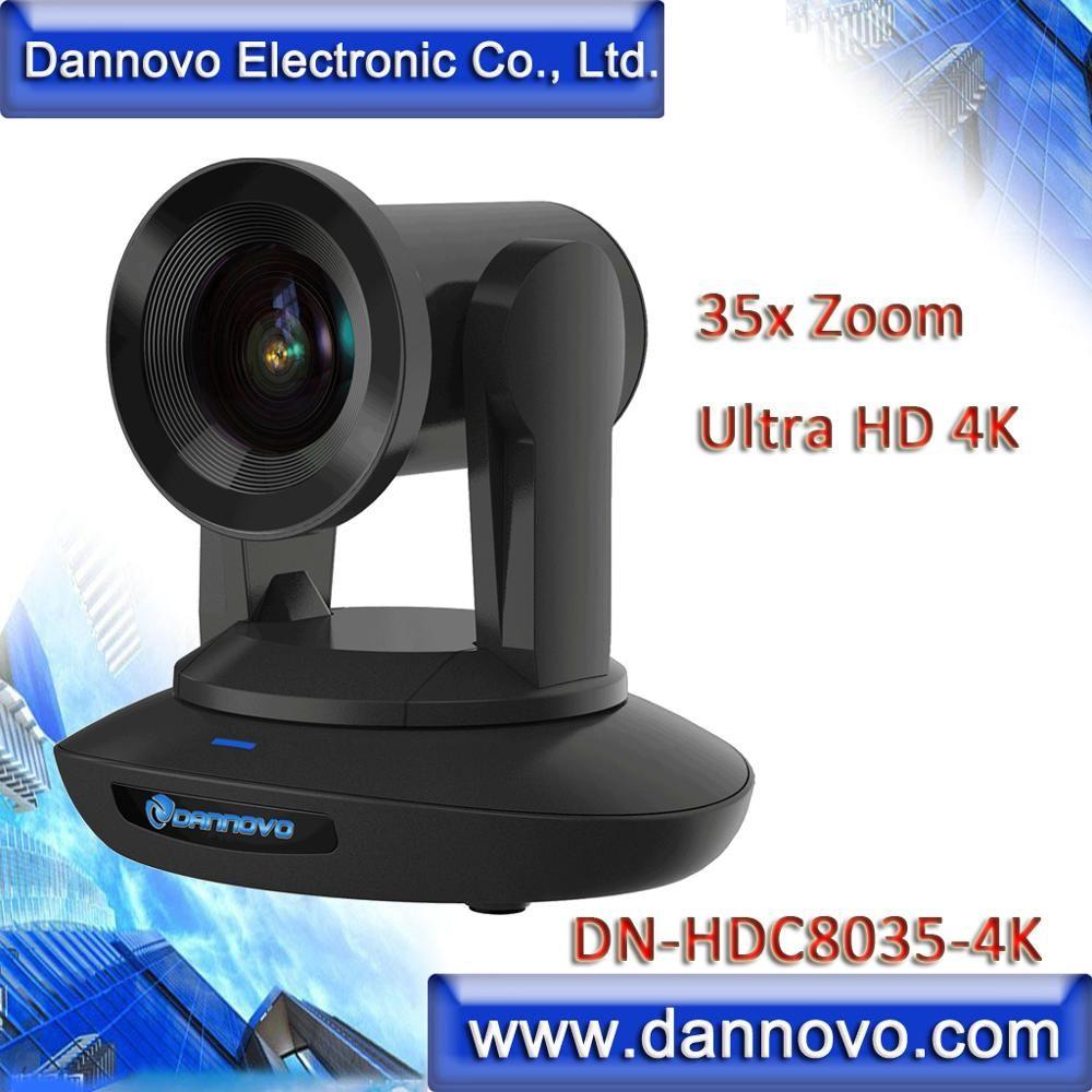 Freies Verschiffen: DANNOVO 4 K Ultra HD 35x Zoom Kamera für Live Rundfunk, PoE IP Kamera, SDI Konferenz Kamera (DN-HDC8035-4K)