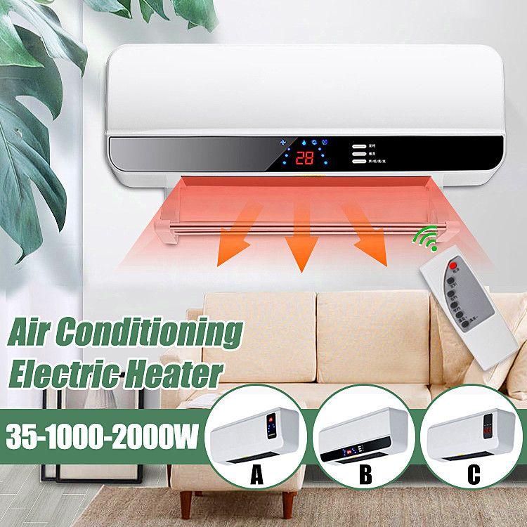 2000 watt Timing Wand Montiert Heizung Raum Klimaanlage Trocknen Kleidung Handtuch PTC Luft Heizung 220 v