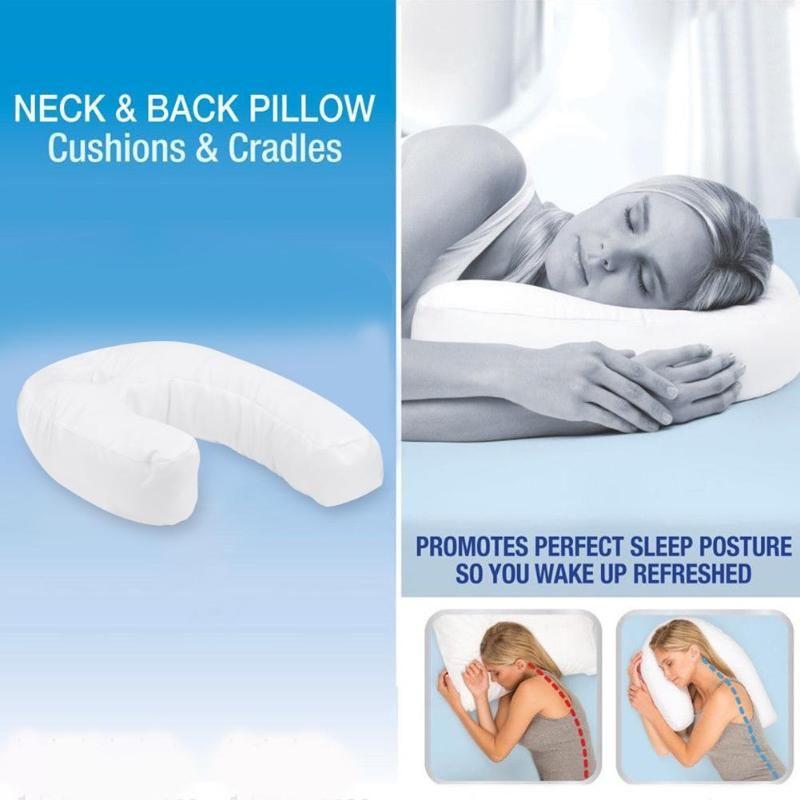 Soins de santé en forme de U oreiller cou et dos oreiller maintien cou colonne vertébrale Protection coton oreiller coussin livraison directe