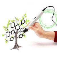 RP800A 3D профессиональной печати 3D ручка с OLED Дисплей поколения 3D рисунок пером для рисовал художественных промыслов решений и образование