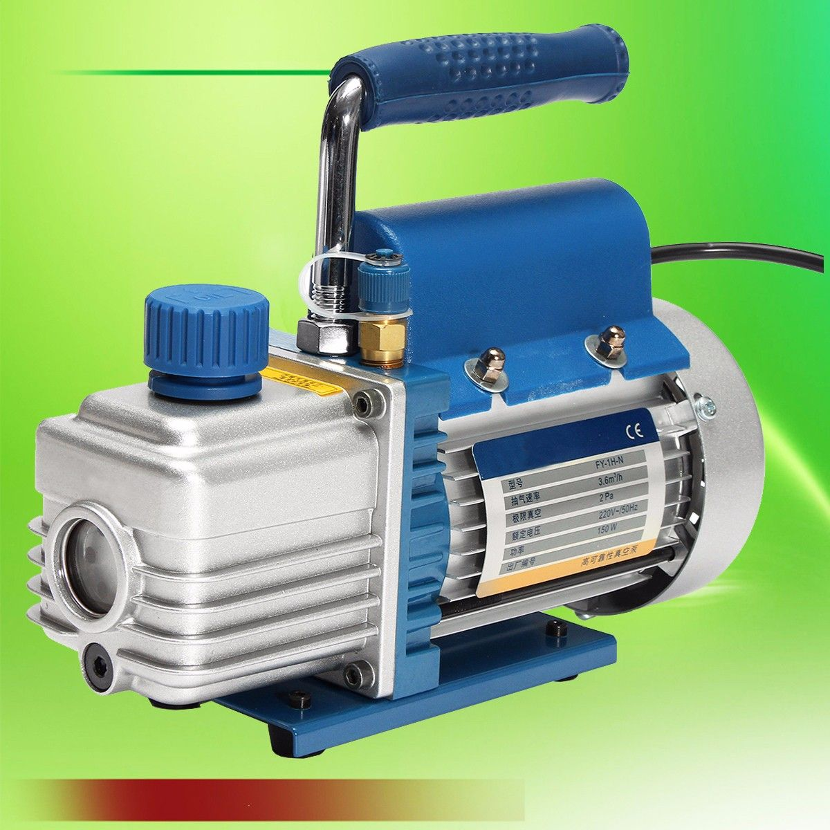 1 PC 150 W 220 V Mini Air Drehschieberpumpe Luft Kompressor LCD Separator Laminieren Maschine HVAC Kälte reparatur Werkzeuge