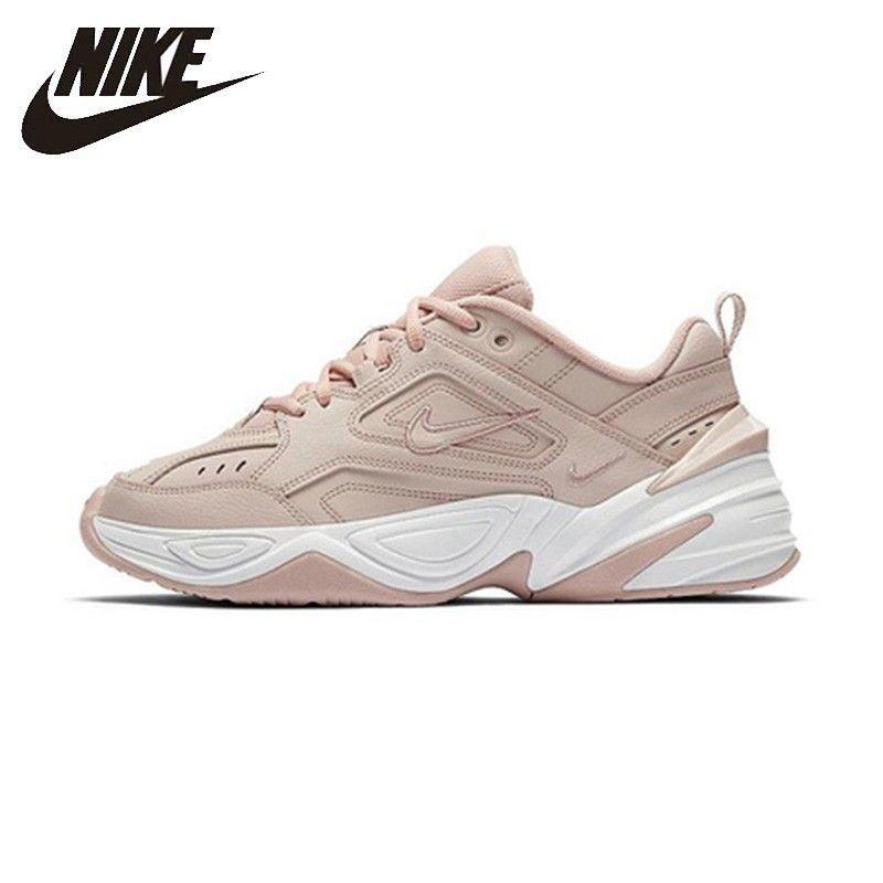 Nike M2k Tekno Clunck Frau Laufschuhe Mode Atmungsaktive Anti-slip Dad Schuh Sport Turnschuhe # AO3108