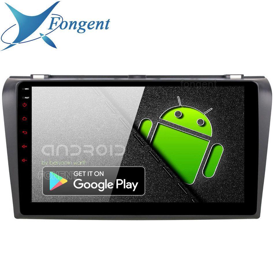 Android 9.0 Einheit für Mazda 3 Mazda3 Radio 2006 2007 2008 Auto GPS Navigation RDS Multimedia Radio Stereo 4 GB 64 GB DSP TPMS Audio