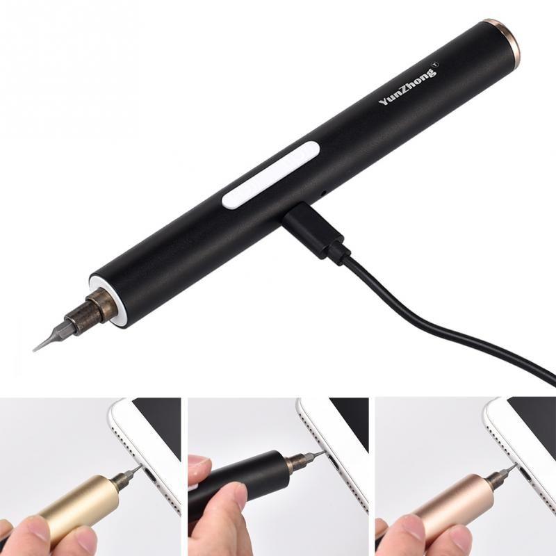 DC 3.6 V léger Mini électrique sans fil tournevis tournevis Portable outils de réparation pour téléphone ordinateur caméra réparation