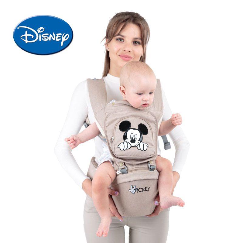 Disney Atmungsaktive Vorne Baby Träger Mickey Infant Komfortable Sling Minnie Rucksack Kleinkind Abnehmbare