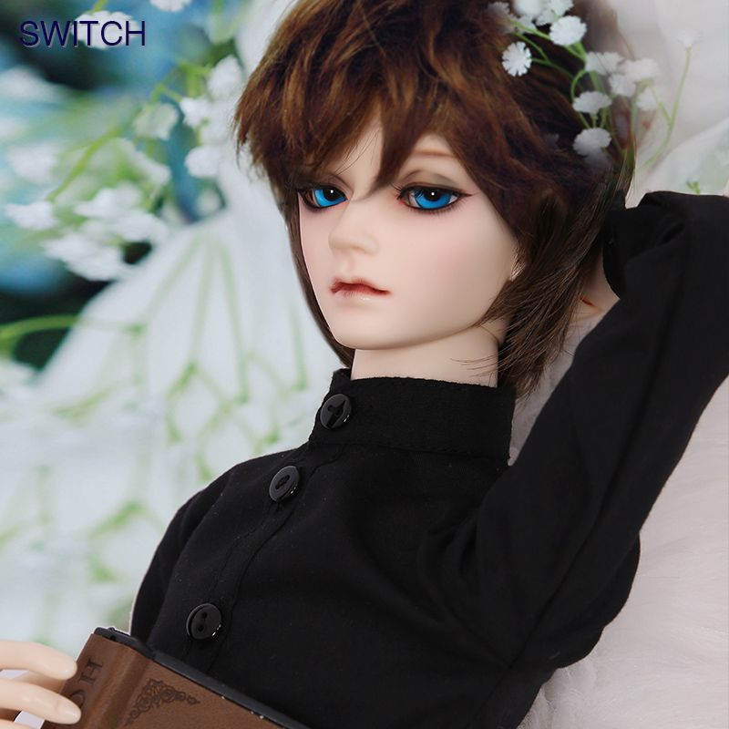 OUENEIFS Milhwa Switch 1/3 BJD SD Dolls Model Free Eyes Girls Boys High Quality Toys Resin Figures For Christmas Or Birthday