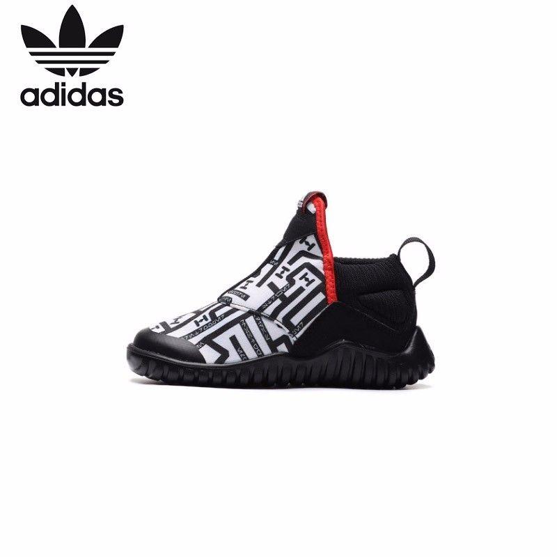 Adidas Kinder Schuhe Original 2019 Neue Muster Kinder Laufschuhe Sport Im Freien Turnschuhe # AH2579