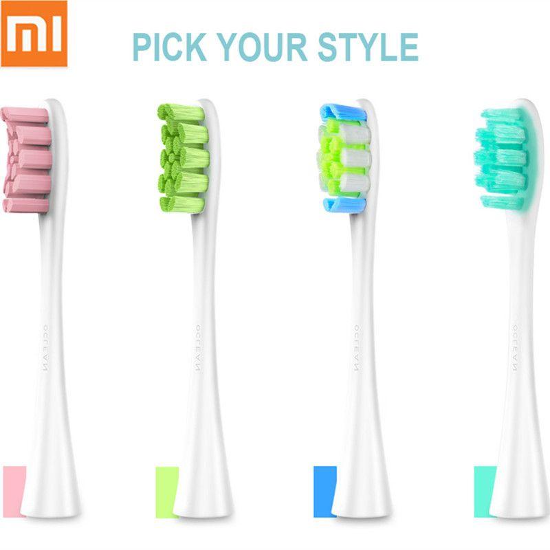 Nouveau Xiaomi Oclean SE/Un/Air têtes de brosse de rechange 2 pièces Pour Oclean brosse à dents électrique à ultrasons Nettoyage En Profondeur brosse à dents Têtes