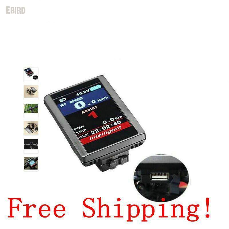 Freies verschiffen Multicolor LCD Display TFT Bildschirm 8fun DPC-14/850C für bafang Motor BBS02 BBSHD 36 V/48 V