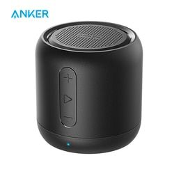 Anker Sound Core Mini Super-Portabel Bluetooth Speaker dengan 15 Jam Waktu Bermain, 66-Kaki Rentang Bluetooth Enhanced Bass Mikrofon