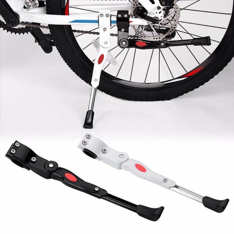 Support réglable de Support de stationnement de béquille de bicyclette de route de vtt Support latéral de coup de pied pièces de cyclisme 34.5-40 cm Support de vélo