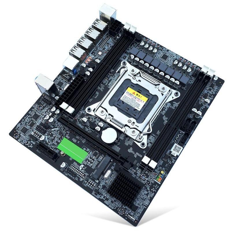 X79 E5 ordinateur de bureau carte mère LGA 2011Pin 4 canaux RECC Gaming carte mère CPU Support de plate-forme i7 Xeon pour Intel H61 P67