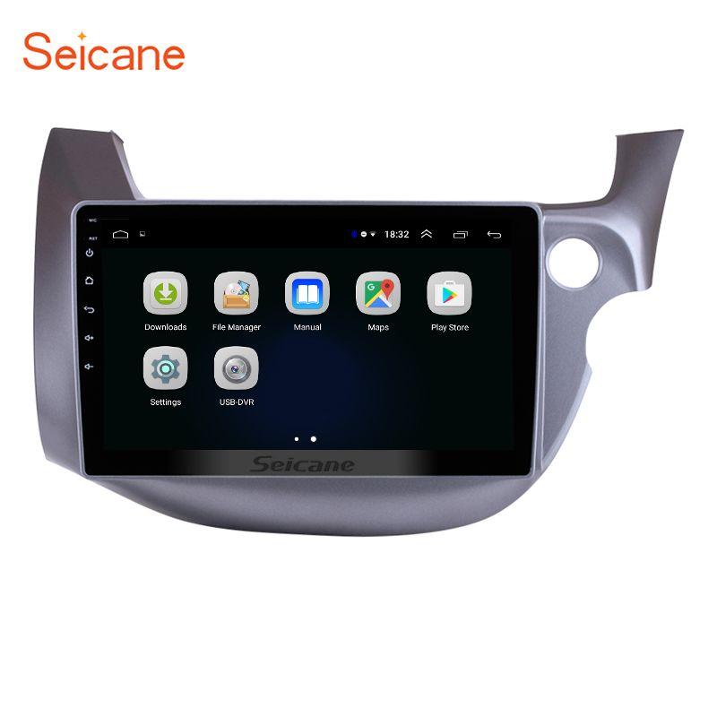 Seicane 2Din Auto Radio GPS Navigation Für HONDA FIT JAZZ 2007 2008 2209 2010 2011-2016 RHD Android 8.1 10,1 zoll WiFi Kopf Einheit